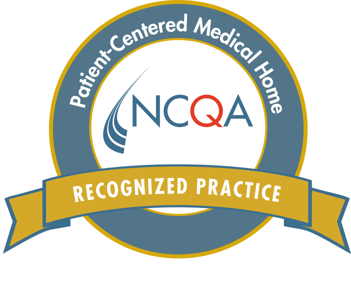 National Committee for Quality Assurance Logo for Patient Centered Medical Home Recognized Recognize Practice